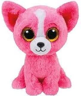 Ty Inc Beanie Boo Plush Stuffed Animal Pashun the Pink Chihuahua Dog 6 by Ty Inc.