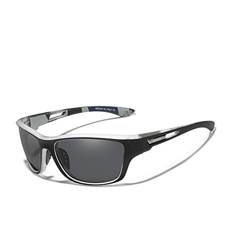 RHNTGD Gafas de Sol Hombre Vintage Lente Polarizada de Hombre Moda Gafas de Sol Mujeres Uv400