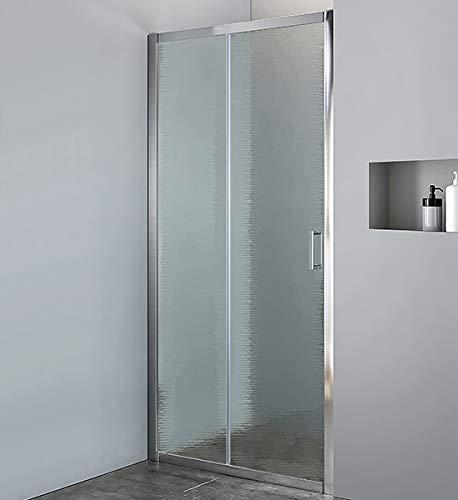 Douchecabine met 2 deuren van kristalglas, 6 mm, schuifopening 97-101 cm