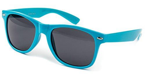 Ciffre Nerdbrille Nerd Sonnenbrille Nerdbrille Sonnen Brille Piloten Classic Türkis