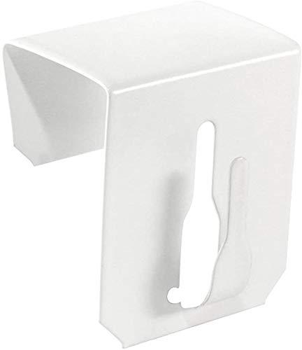 10x Fensterhaken Dekohaken Fensterclip für Fensterdekoration Weiß (Fensterdicke bis 23mm)