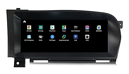 """WYZXR Android 10 Car Stereo GPS Navigation 10.25"""" Touch Screen for Mercedes Benz S W221 2005-2013 Built in Carplay Android Auto Support Navigation/CD DVD DSP Multimedia/BT SWC 4G+WiFi"""