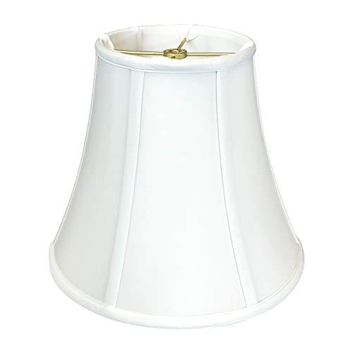 Royal Designs, Inc. True Bell Lamp Shade - White - 9 x 18 x 13.625