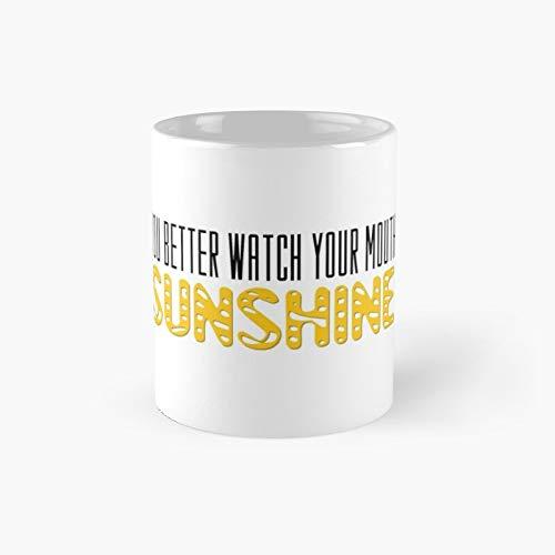 The Walking Dead Quotes Tv Series Sunshine Classic Taza de café divertidas, 11 oz