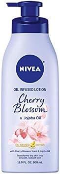 Nivea Oil Infused Body Lotion Cherry Blossom and Jojoba Oil