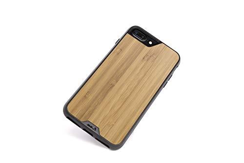 Mous - Funda para iPhone 8+/7+/6S+/6+ Plus - Limitless 2.0 - Madera de Bambú - Protector de Pantalla Incluido