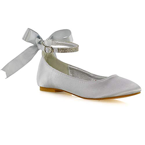 Top 10 best selling list for silver diamante flat shoes