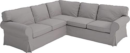 Funda de repuesto para sofá Ikea Ektorp 2 de algodón grueso, hecha a medida para esquina o sofá seccional Ikea Ektorp