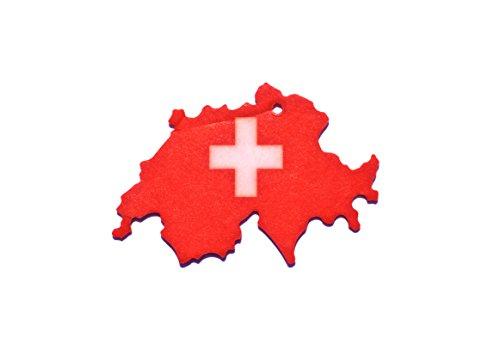 Lot de 3 Suisse pour voiture dans le Odeur Désodorisant parfum vanille