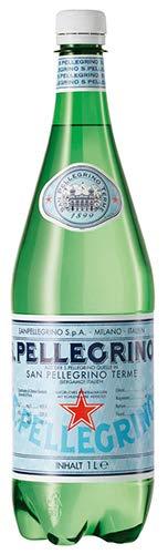 San Pellegrino Italienisches Mineralwasser, glitzernd, 1 l, 6 Stück