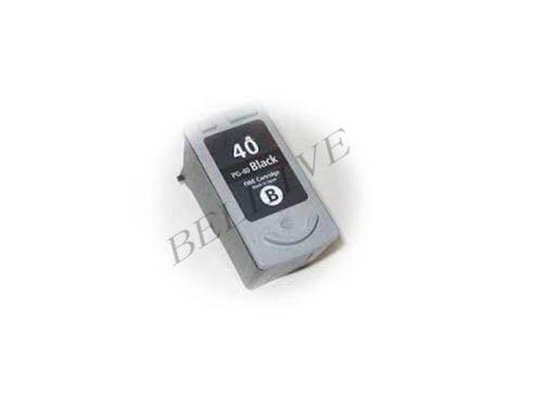 CARTUCCIA RIGENERATO COMPATIBILE PER CANON PG-40 Canon iP 1200 / iP 1600 / iP 2200 / MP 170 / MP 150 / MP 450 / iP 1700 / MP 160 / MP 460 / iP 2500 / FAX-JX500 / FAX-JX200 / JX500 / JX200 / MP 210 / MP 220 / MX 300 / MX 310 / MP 140 / iP 2600 / MP 190 / JX510P / FAX-JX210 / JX210P / iP 1900 / iP 1300 .