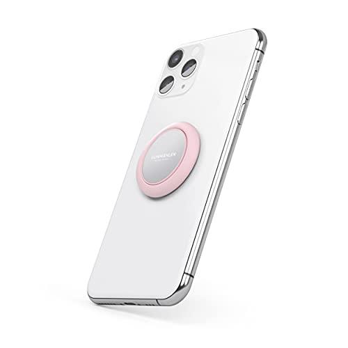 VONMÄHLEN The New Backflip Signature - Handy Fingerhalter - Stativfunktion, Kompatibel mit jedem Smartphone - Fingerhalterung & Magnethalterung (Rouge)
