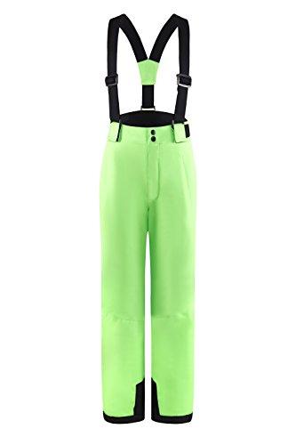 Pantalon de ski Central Project pour enfants - 334.208 5-6 ans Neongrün (Gecko Dark)