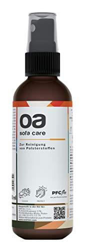 OA Sofa Care Polsterreiniger Sofa (100ml) - 100% PFC frei und vegan - Sofa Reiniger für effektive Reinigung von Flecken und Verunreinigungen - Teppichreiniger & Textilreiniger Teppich, Autositz etc