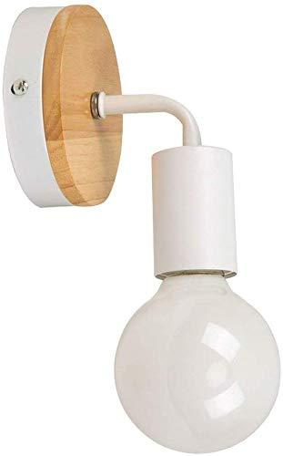 JINYU Decoración de madera blanca LED Lámpara de pared arr
