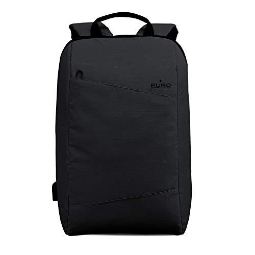 Puro Zaino Byday per MacBook Pro 15' e Notebook da 15.6', Nero
