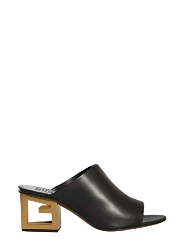 Givenchy Luxury Fashion Damen BE3028E0A1001 Schwarz Leder Sandalen | Jahreszeit Permanent