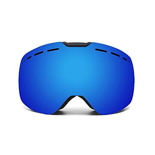 Ski Snowboard Goggles Skibrillen mit Myopie verfügbar Doppel Anti-Nebel-Ski-Goggles TPU-Rahmen Wechselrahmenabnehmungslinse sphärisch Wintersportgeräte Outdoor Klettern Männer Geschenke for Frauen