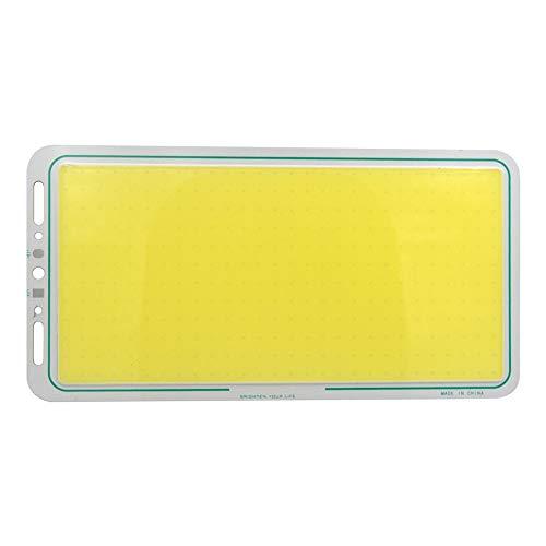 Dicomi 12V LED Panel Strip COB Light Lampe Ausgewogen für auto Beleuchtung Oder Spezielle Zwecke 220X120mm 70W 7000LM (6000-6500K) Kaltes Weiß