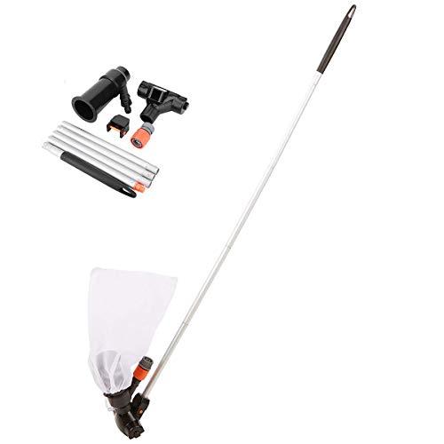 DaMohony Schwimmbad Staubsauger Reinigungswerkzeug Jet Unterwasserreiniger mit Tasche für Pool Gartenteich.