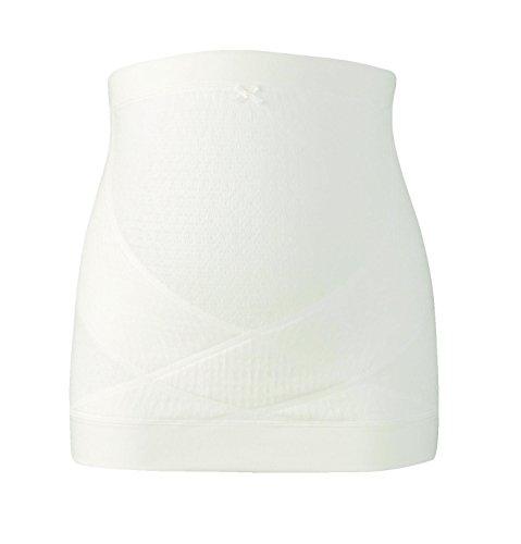 Wacoal MATERNITY(ワコールマタニティ) 妊婦帯 腹巻きタイプ ( 日本製 ) 産前 妊娠初期から臨月まで使える 腹帯 [ ギフトケース入り ] L アイボリー MRP476 IV