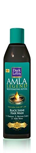 Dark & Lovely Champú Amla Legend Black Shine de 250ml