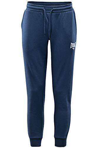 Everlast Sports Pantaloni Eleganti, Blu, XL Uomo