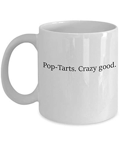 Tazas de café Pop-Tarts. Regalos para el día de las madres de Crazy Good Tazas divertidas y novedosas de regalo de 11 onzas
