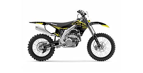 Kit Deco Motocross Kawasaki KXF 450 Incredible Edition Negro Gris 2006-2022