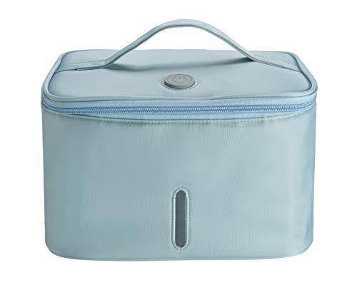 UV Sanitizer Bag UV LED Sanitizing Box Portable UVC Light Cleaner 265 nm LED UV Sterilizer Kill 9999% in 3 Minutes for Phone Clothes Glasses etcBlue