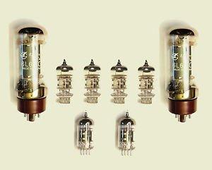 Jellyfish Audio 6l6,12ax7& 12AT7Kit de válvula para amplificadores de guitarra Fender Twin Reverb