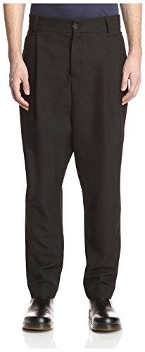 Damir Doma Men's Patia Pleated Trouser, Coal, 48 US