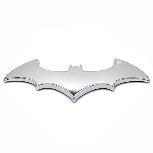 3D Emblem Fledermaus Batman Chrom Kunststoff mit Schaumstoff-Kleberückseite Badge von VmG-Store Joker