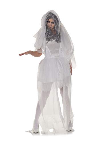 UNDERWRAPS Ghostly Glow, blanco, grande