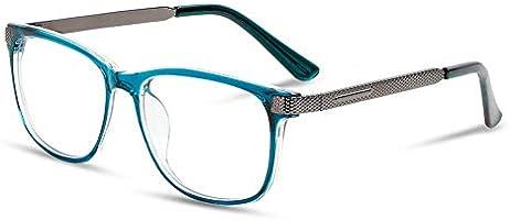 Blue Light Glasses for Men Women UV Protection Computer Glasses Reduce Headaches Anti Eyestrain, Square Eyeglasses Frame...