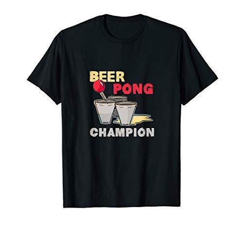 Beer Pong | Beer Champion | Trinkspiel | Geschenk T-Shirt