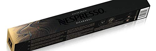 New Original Nespresso Capsules Pods Master Origin Nicaragua 10 Capsules Per Sleeve