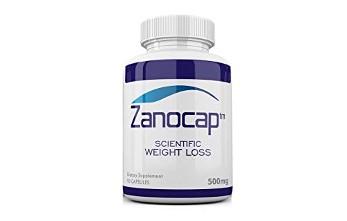 Zanocap Diet Pills for Healthy Weight Loss, Appetite suppressant, and ephedra Free Fat Blocker for Weight Control. 90 Capsules, 500mg Each, All Natural Ingredients. 100% Money Back Guarantee.