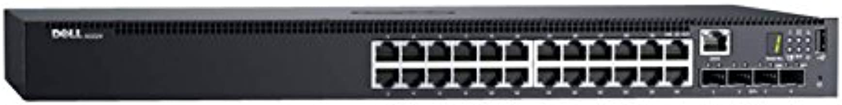Dell Networking N1524 - Switch - 24 Ports - Managed - Rack-mountable, Black (463-7254)