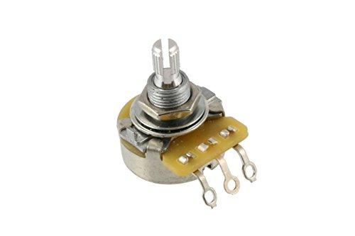 Allparts EP-4988-000 CTS Potentiometer (Poti, 1MOhm, logarythmisch Riffelachse)