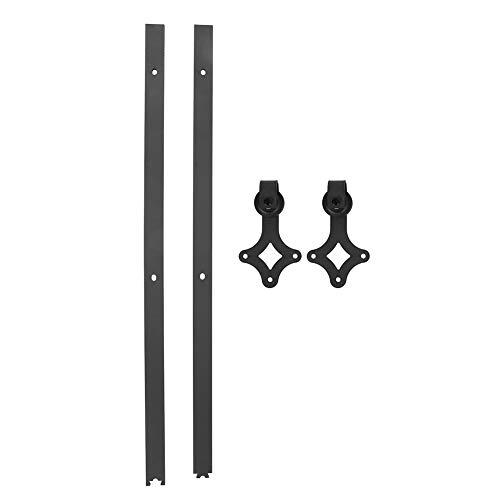 Il binario per porta, il binario per appendere la porta del fienile può essere utilizzato per l'armadio scorrevole per la casa