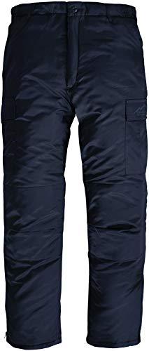 Winter Thermohose gefüttert Winter Pants verstärkt und mit Dehnfalten für Herbst und Winter Farbe Navy Größe XXL