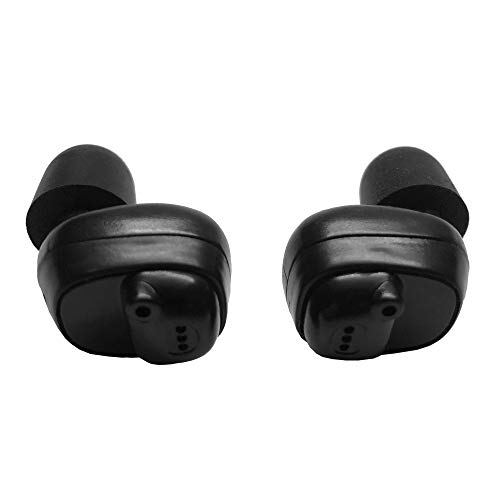 Grizzly Ears Shooting Earmuffs with Bluetooth: Amplifies Sound and Reduces Gunshot Noise Pairs with Smart Phone Charging Case Included