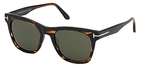 Tom Ford Gafas de Sol BROOKLYN FT 0833 Havana/Green 54/20/145 hombre