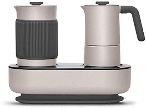 Koffiemachine for huishoudelijk gebruik Mini Fancy Koffiezetapparaat Simple Press Coffee Brewing Milk Machine koffiemachine met Timer Eén druk op de knop gemakkelijk schoon te maken WKY