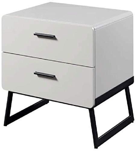 File cabinets Nachttisch Schlafzimmer Nachttisch Kommode Stauraum Wohnzimmer Beistelltisch Couchtisch Beistelltisch (Farbe: Weiß)