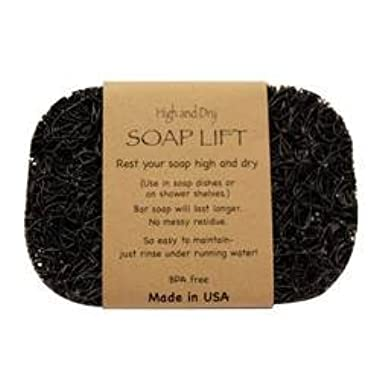 Black Soap Lift soap dish by Soap Lift