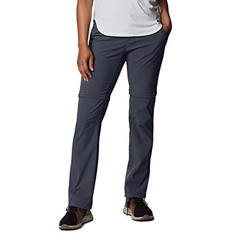 Columbia Saturday Trail II Pantalones Elásticos, Mujer, Azul (India Ink), W10/S