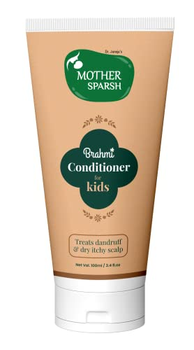 Mother Sparsh Brahmi Anti-Dandruff Hair Conditioner For Kids To Treat Dandruff & Dry Itchy Scalp-100ml