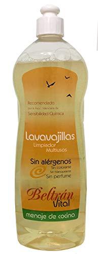 Beltrán Vital Lavavajillas - 3 Recipientes de 1000 ml - Total: 3000 ml